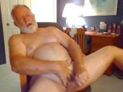 accidente cerebrovascular abuelo en la webcam