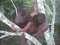 Африканская коренной житель порево