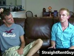 Hetero hunks go gay for cold hard cash gay porno video