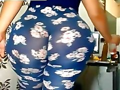 Ass masiva en Leggings libre BBW porno