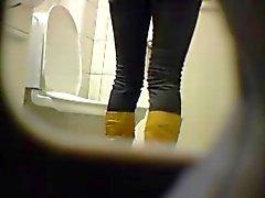 Blonden teen Fotze ass Toilette verborgene Spionnocken Voyeure 7