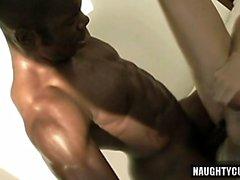 Huge sexo anal Gay Dick con corrida