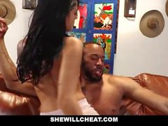 SheWillCheat - Petite Yoga Girlfriend Cheats With Black Cock