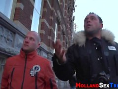 Dutch hooker gives head