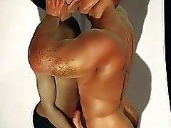 In 3D del muscolo Ragazzi di amore Saracinesche e sperma !