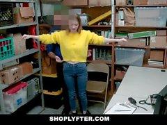 ShopLyfter - LP Officer Fucks Busty Blonde Teen