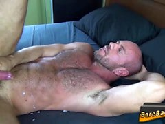 Big bear bareback fucks
