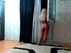 Striptease et masturbation en solo