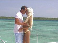 Luxury sex on a yacht