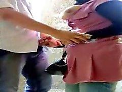 Grosse tette donna araba succhia il cazzo pubbliche