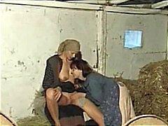 De beste porno scènes uit kinky redneck teef Andy raakte het scherm