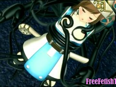 Little Forest Loli Fucked by Huge Tentacles FreeFetishTVcom
