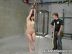 Asya fahişesi eşek almak spanked ve o çığlıklar
