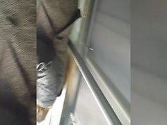Ascenseur Upskirt - culotte noire