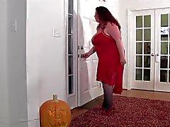 La madre calculadas llenas el hogar invadido