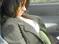 F70 pegou no supermercado e fodido em carro nas proximidades. Brunette