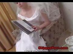 Brud knullas innan hennes bröllops