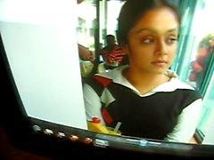 Jyothika Aunty .. jothika mamelon noir