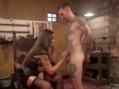 Hot Kinky Shemale having fun