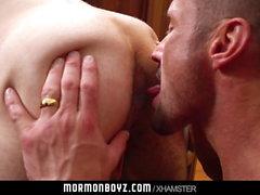MormonBoyz - Hot Daddy Fucks a Guy In the Office