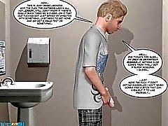 3D комиксов Странная Валли 12