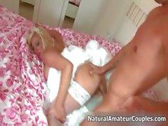 Sıcak sarışın bebek azgın Part5 alır