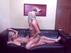 Incredible lesbian teens licking and fingering on webcam