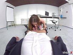 pov sexo com estudante bonito