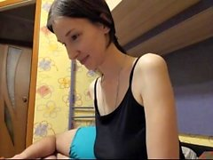 Russian Amateur Webcam Strip-tease