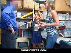 ShopLyfter - Hot Mom asiatique et fille Cum douche