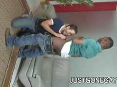 JD Daniels and Gabriel Dalessandro - Black And White Gay Daddies