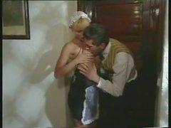 Sexe agréable avec une poussette blonde