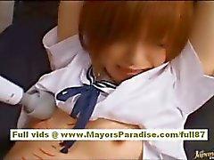 Itagaki Azusa Hot Asian garota tem um corpo sexy é amarrado para provocá