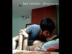 Yeni Sızıntı Süper Sıcak ve Şirin Asyalı Kız Arkadaşım, Tessa: Twitter: @epicutie