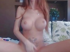 MiaMaxxx Luxury Cover Girl Tattooed dedilhado anal, vidro-buttplug