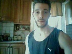 Bel Boy Str8 Greek montre son superbe cul Hot And de Bite