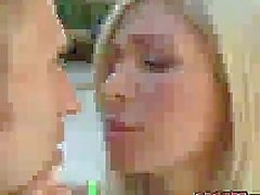 Lustful Evita Pozzi teaches horny couple