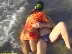 индейская сексуальная оргия на пляже