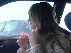 Amateur Eurobabe stuffed and facialed by stranger for cash