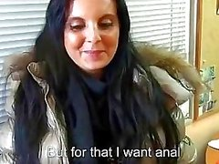 Euro chick Tereza Becker sex for cash