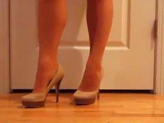 Shoe Leikkiä Jalka istutus jonka mukana toimitetaan letkunohjain