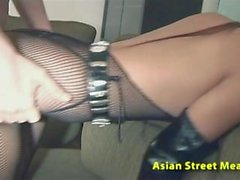 Yupin asiático adolescente