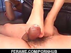 le scene del porn Femdom lungo la superbo Yui Komine