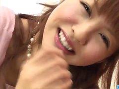 Forte del viso forRika Sakurai dopo pompino caldo