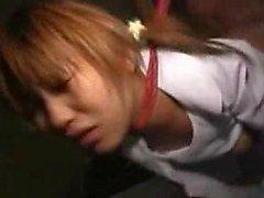 Ihastuttava japanilaiset teini jumalaisen ass naidaan deep