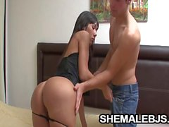 Martina Exotic Shemale DeepThroating A Hard Stick