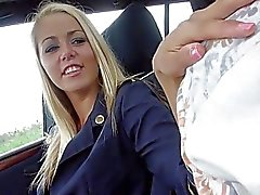 Hot FA Christen Courtney sex in the car