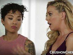 CrushGirls - Cherie Deville opettaa sukupuolta tyttärelleen
