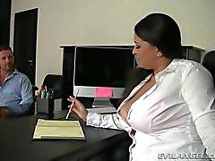 Chubby secretary