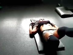 Marlina riss Muskeln MILF